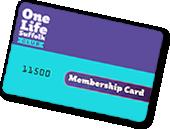 OneLIfe Suffolk Membership card