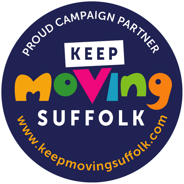 Keep Moving Suffolk Logo